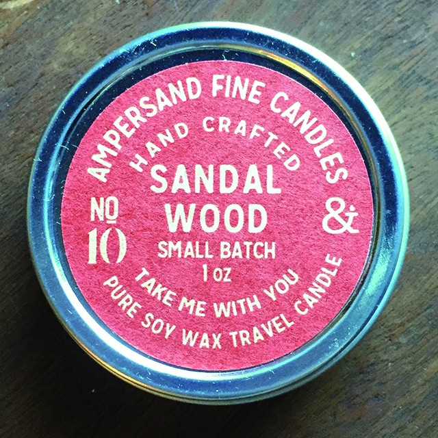 1oz Travel Can -SANDAL WOOD- キャンドル Candles - メイン画像