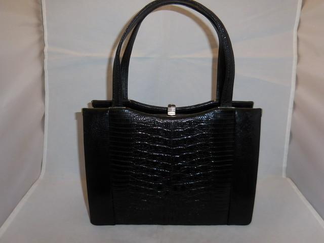 黒ビロードビィンテージバック black color velvet vintage bag (made in Japan)