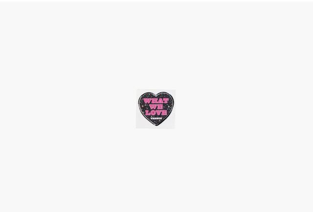 [S-14] 「HEART」 メタル ステッカー