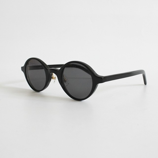 THE NERDYS / CIRCLE sun glasses[BLACK/GRAY]