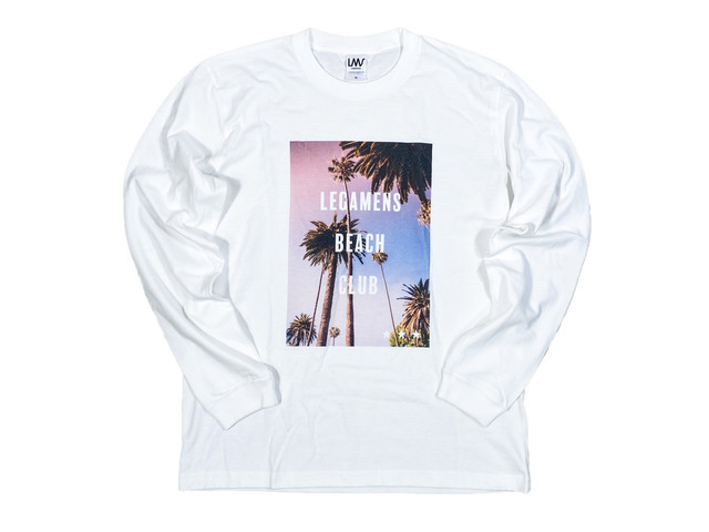 【graphic palm tree long sleeve】