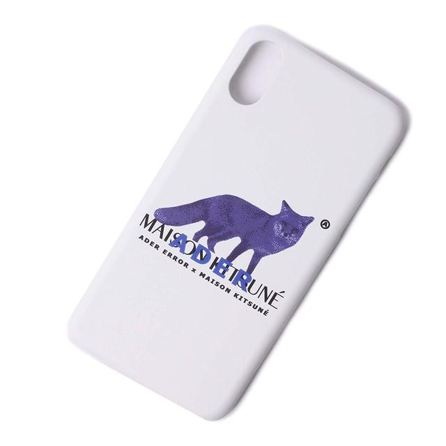 MAISON KITSUNE×ADER ERROR メゾンキツネ×アーダーエラー iphoneX[全国送料無料] r014165