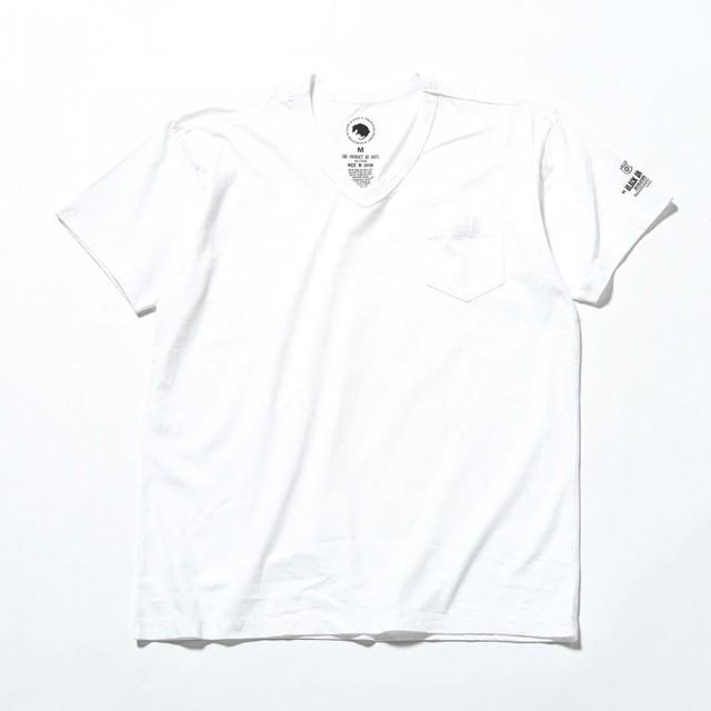 RATS(ラッツ) / V-NECK T-SHIRT(19'RTC-0403)(VネックTシャツ)