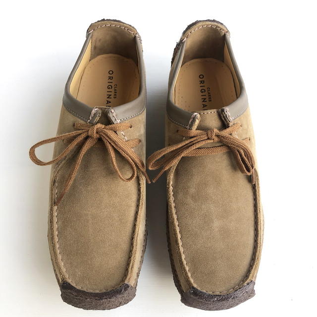 "Clarks Originals ""Natalie""  Oakwood Suede"