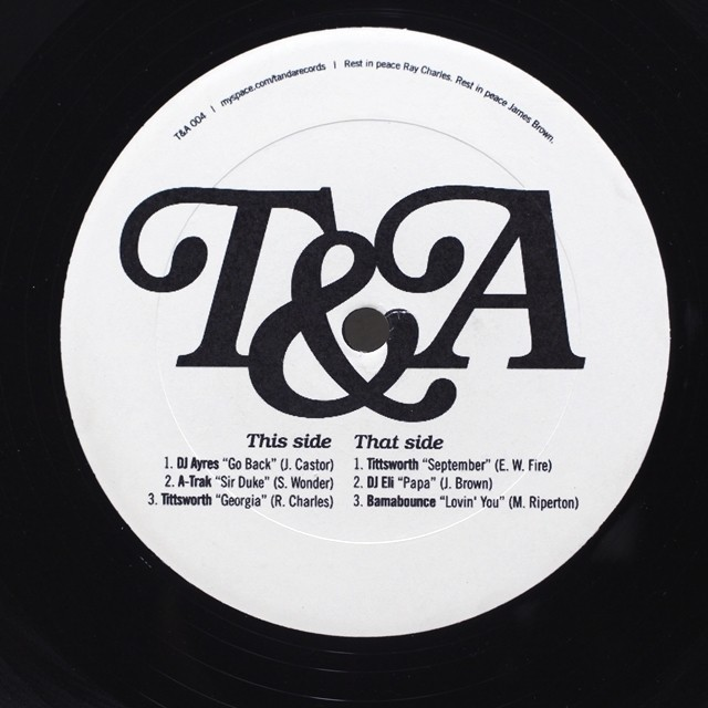 Various / Ultimate T&A [T&A 004] - メイン画像