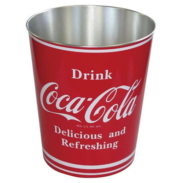 【cocacola】コカコーラティンバケツ(缶) 【コカ・コーラ】【赤】【ゴミ箱】