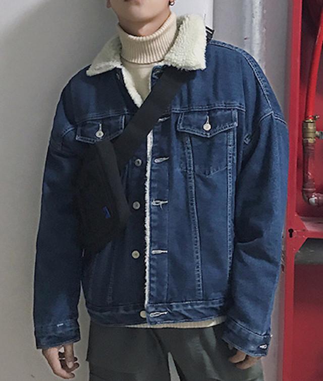 デニムジャケット Gジャン メンズ ジージャン トップス アメカジ カジュアル シンtps-1385