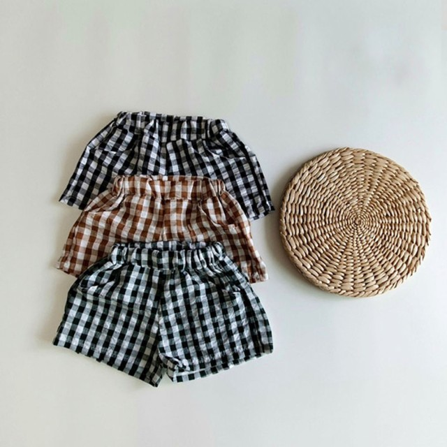 check short pants  (グリーン/ショートパンツ) green kids top-wood:LF65DKX0060919_143