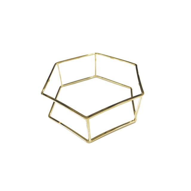 フレームバングル 六角形