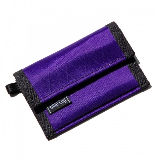 BLUE LUG micro wallet X-pac(パープル)ブルーラグ マイクロウォレット