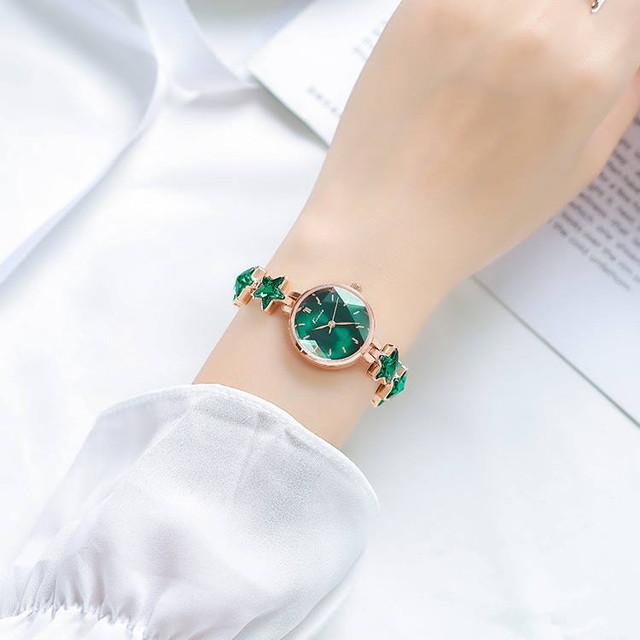 Kimio AF-6352(Green) 腕時計 レディース