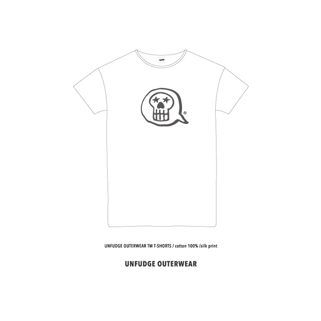<予約>UNFUDGE OUTERWEAR T-SHORTS / WHITE