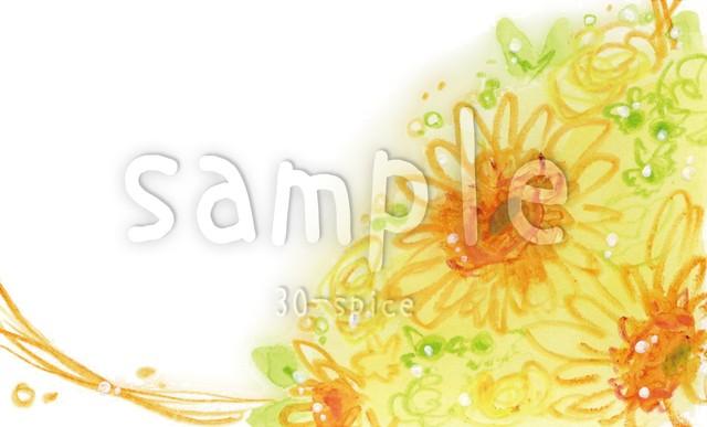 【名刺・カードサイズ】flower_himawari(jpg)