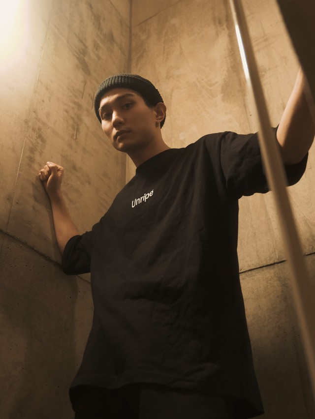 Unripe Oversized Logo T-shirt Black