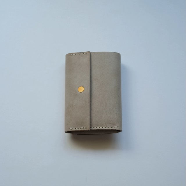 roll wallet - white beige - ALASKA