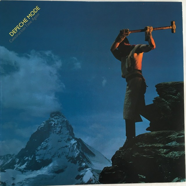 【LP・米盤】Depeche Mode / Construction Time Again