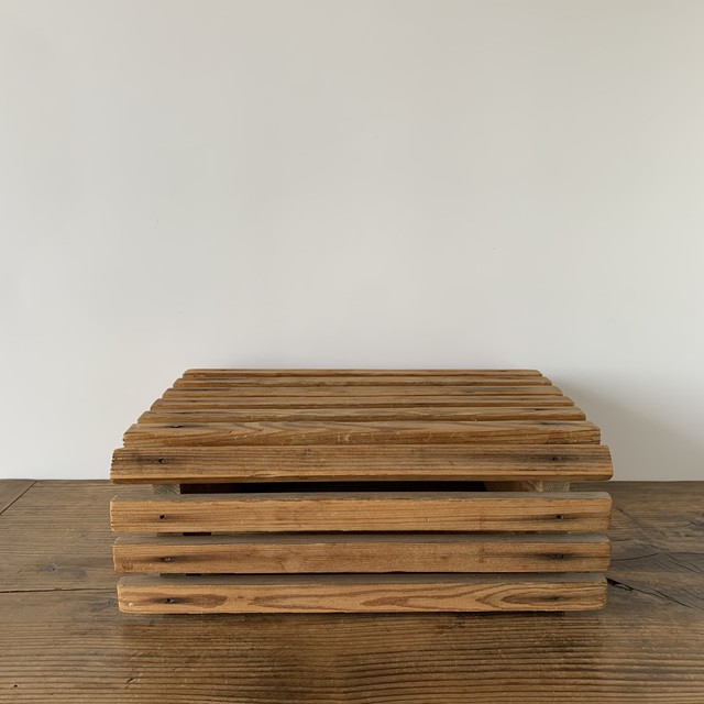 Handmade wooden Stand