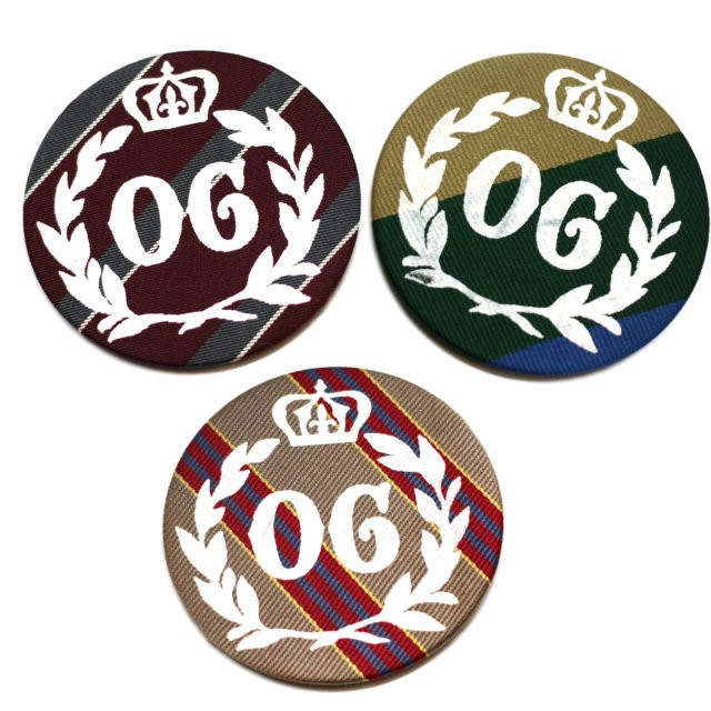 "Antique Large Badge ""OG"" 【OR GLORY】"