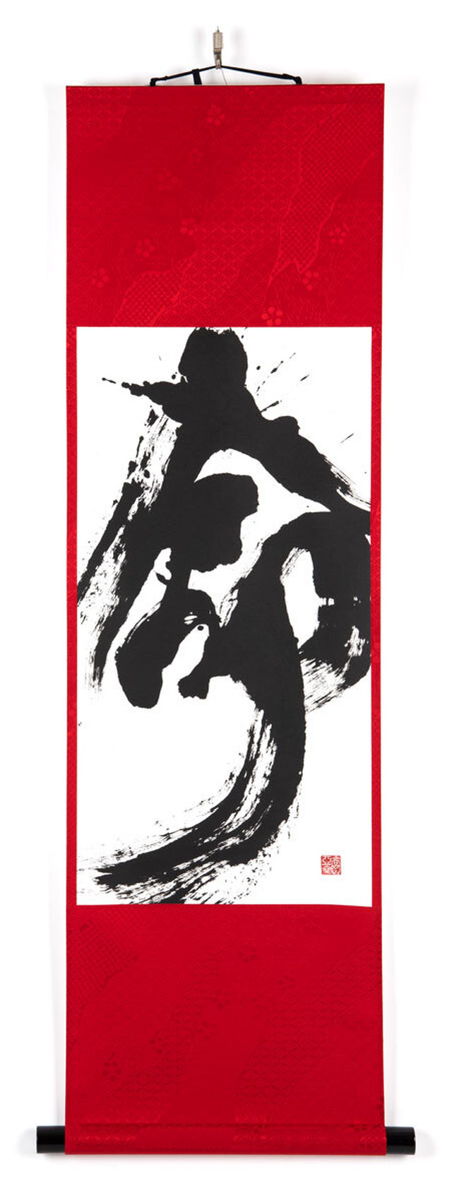 命 掛軸 直筆作品(一点物)- Life - Hanging Scroll Upright brush artwork (One-of-a-kind)