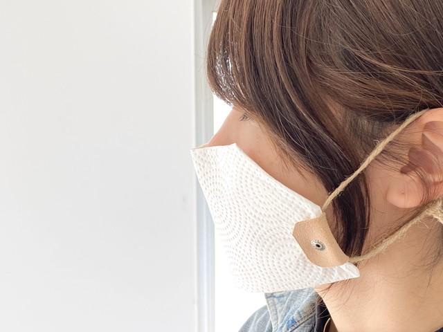 マスクの代用品づくりに。革クリップキット