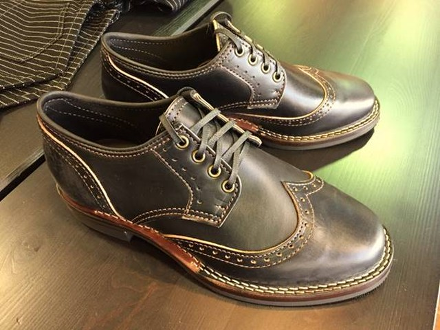 "Wesco - Robert William - Horween Horsehide Black ""Shoemaker Family Collection"""