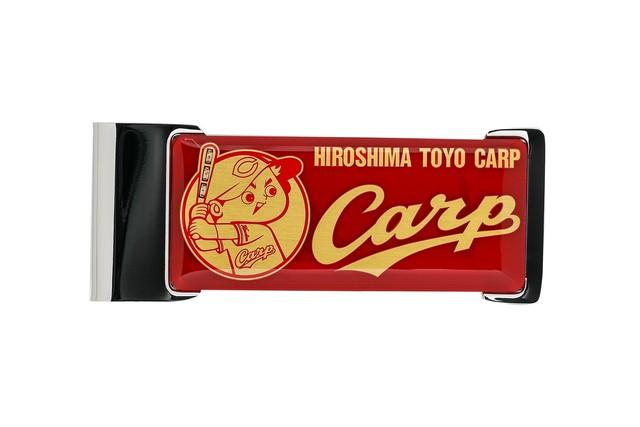 FLASH 広島カープ 基板アートICカードクリップ 【名入れ無料サービス実施中】