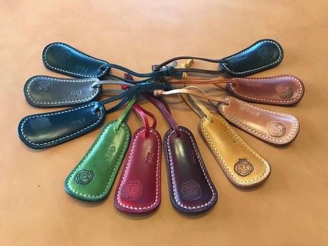 テンペスティ社のイビザ使用の携帯用靴ベラ