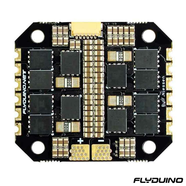 FLYDUINO KISS ESC 2-5S 25A 4in1 (40A limit) - 32bit brushless Motor Ctrl