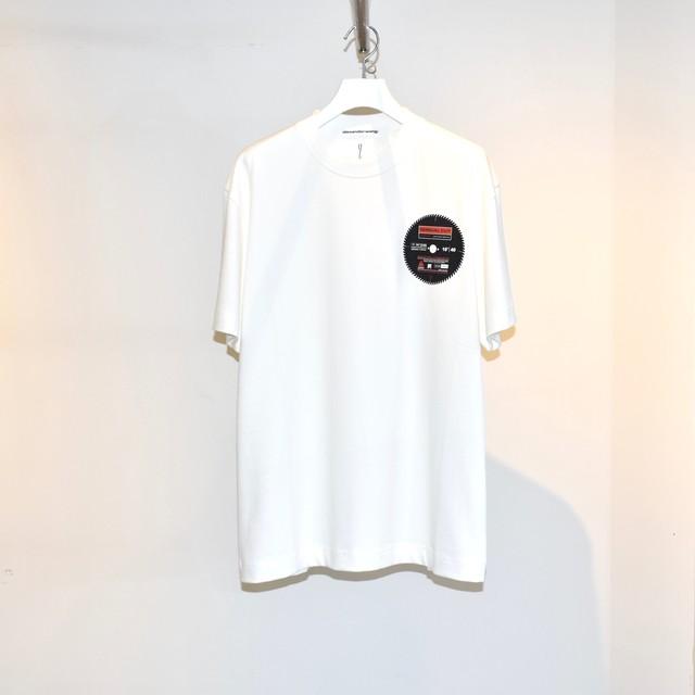 Alexander Wang Saw Blade Print T-Shirt