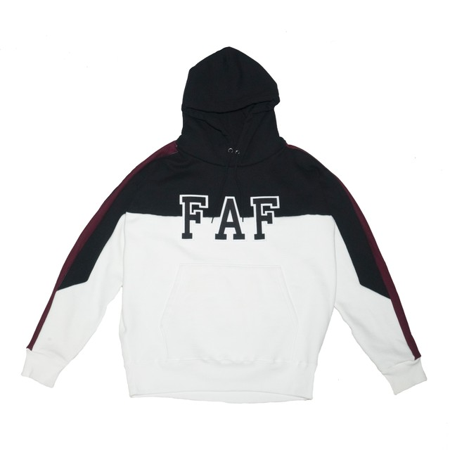 FAF college logo hoodie - メイン画像