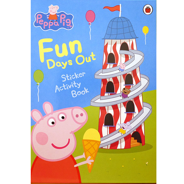 Fun Days Out Sticker Activity Book(ペッパピッグ)