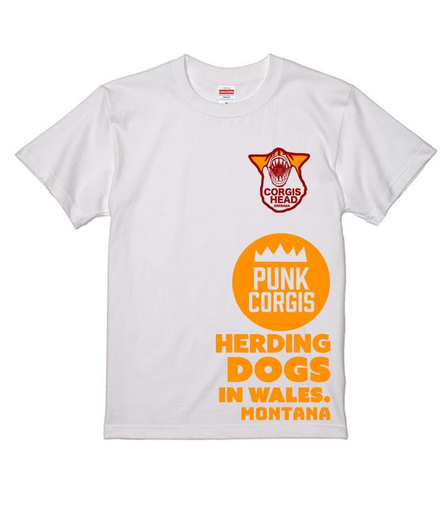 No.74 モッズウエールズコーギーTシャツ