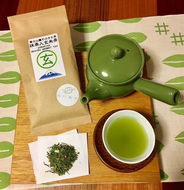 富士山麓 やぶきた抹茶入玄米茶 100g