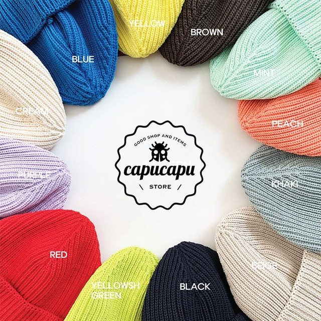 «sold out» spring beanie 12Colors