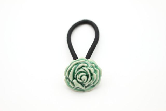 有田焼ヘアゴム バラ 12