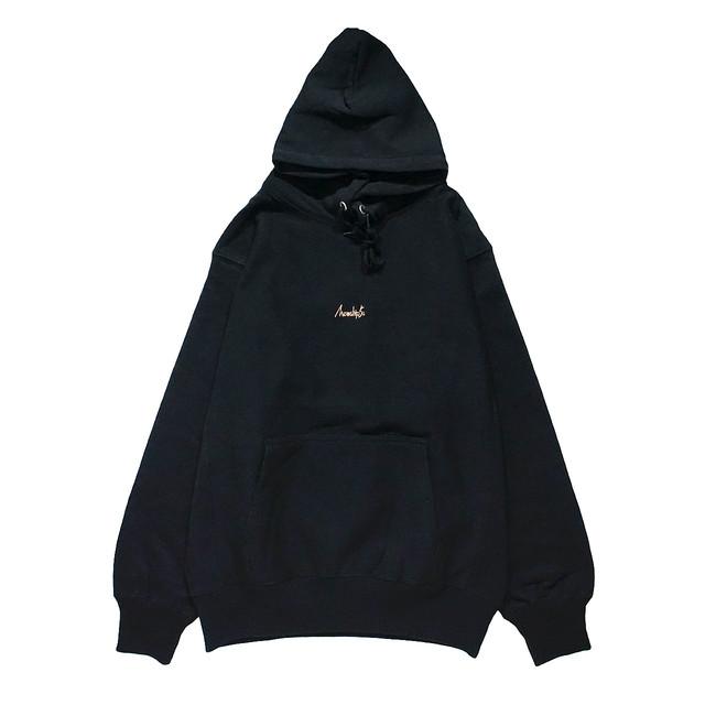 BASIC LOGO 019 pullover <Black×G.Beige> - メイン画像