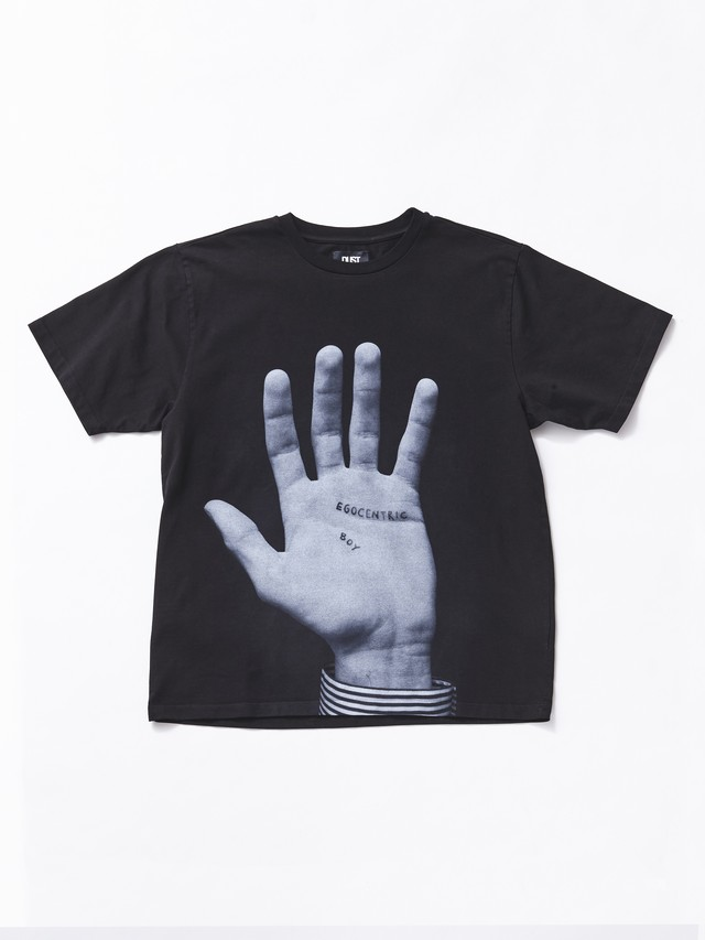 DUST Hand Tee Black ST2EGO