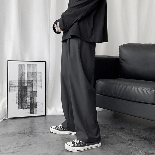 simple wide slacks PD2440