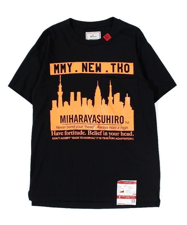 【Maison MIHARAYASUHIRO】Skyline Printed T-shirt