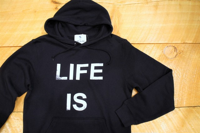 LIFEis BIGロゴパーカー(navy)¥4200+tax