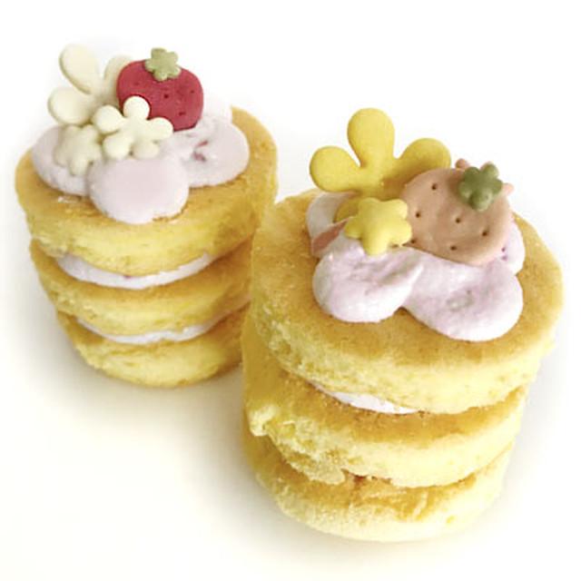 【冷凍】キッチンドッグ×犬の生活コラボ  ミルフィーユケーキ 苺の季節