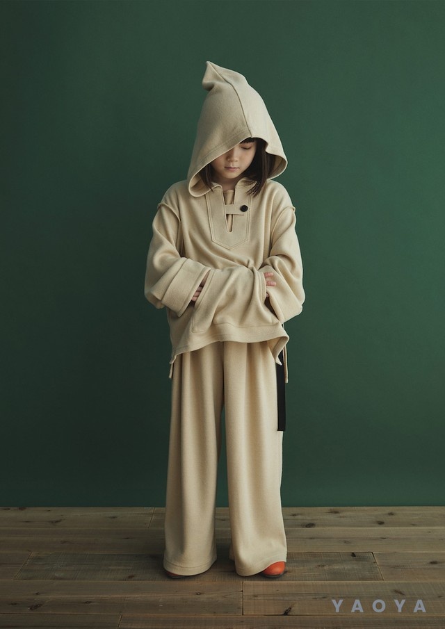 GRIS 20AW Mexican Side Slit Parka Sサイズ (ecru) [GR20AW-SH005]
