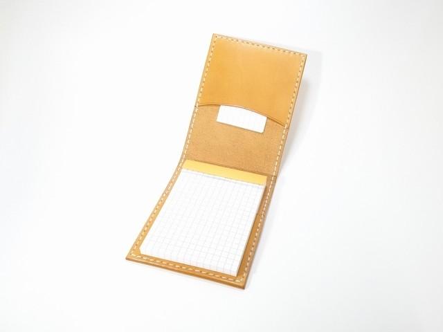ヌメ革メモカバー(RHODIA No11用)