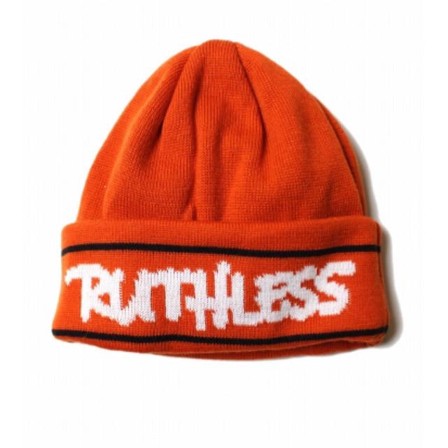 RUTHLESS #HD Knit Cap Orange