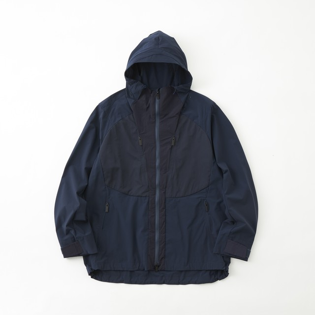 STRETCHED MOUNTAIN PARKA - NAVY