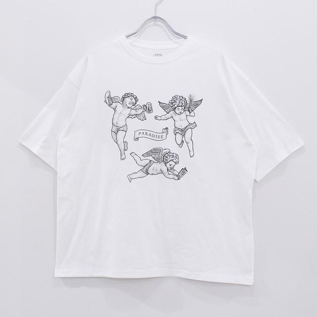 "ANTE ""PARADISE"" half sleeve T-Shirts"