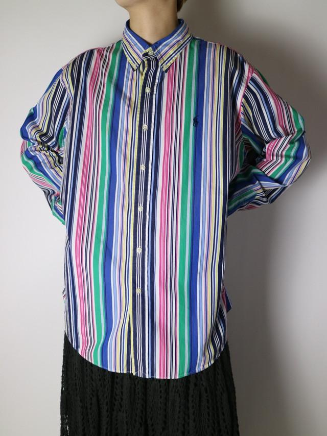 Ralph Lauren buttondown shirt【1100】