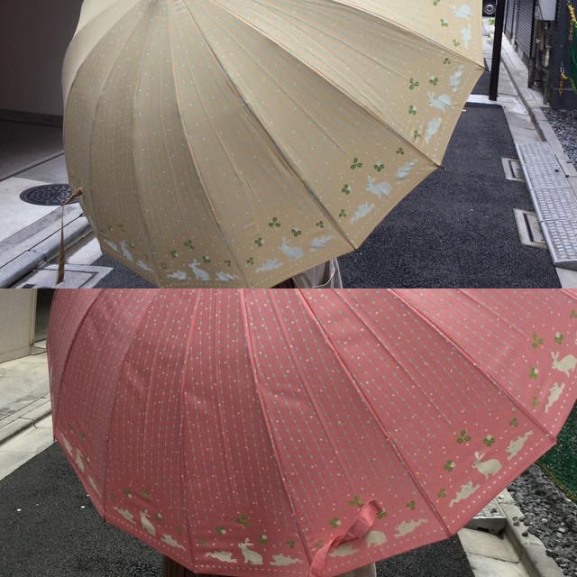 雨小町16本骨傘