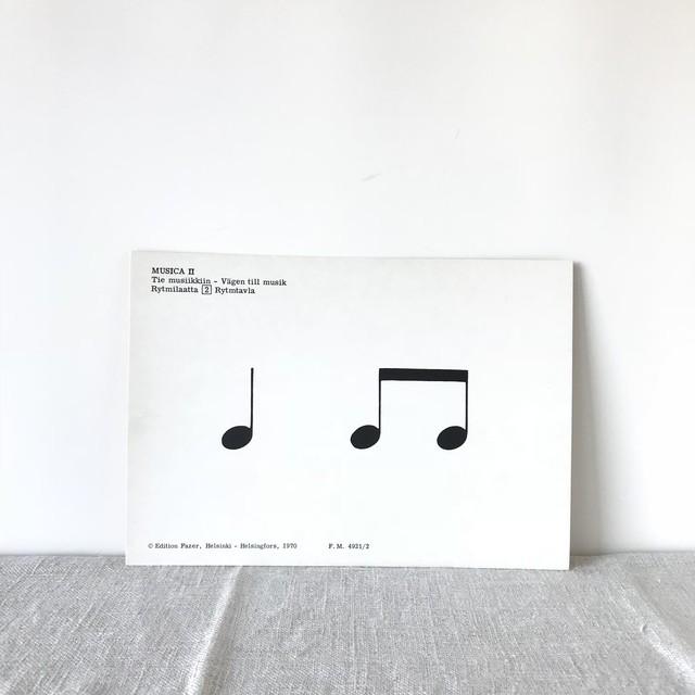 Fazer rhythm card