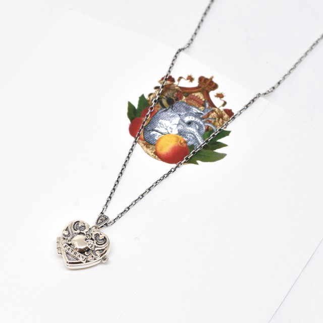 Packaged collection  Heart Locket Pendant